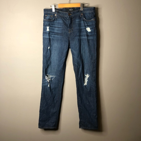 J Brand Denim - J brand boyfriend jeans 30 aiden flintlock